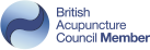 British Acupunture Council Member logo